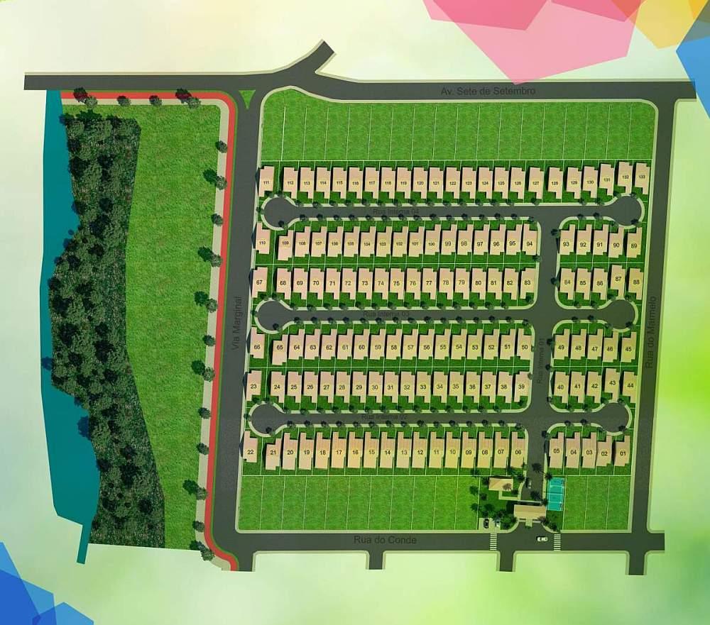 Condomínio de casas a venda em Uberlândia